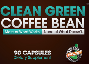 Rag-Tag Research Geeks Recommend - CLEAN GREEN COFFEE BEAN - aPP-approved - RagTagResearchGeeks.com
