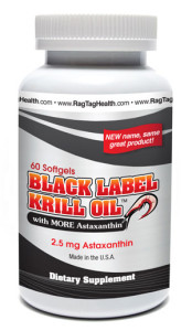 Black Label Krill Oil